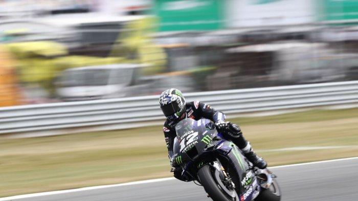 Jadwal MotoGP Belanda Hari ini: Maverick VINALES Pole Position