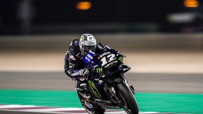Hasil MotoGP Qatar 2021: Maverick Vinales Tercepat, Valentino Rossi ke-12, Joan Mir Dibuat Malu