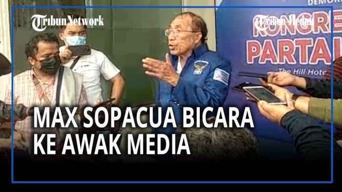 SEBENTAR LAGI AHY Terjungkal, Max Sopacua Sebut Orang-orang KLB Garis Lurus: Kumpulkan yang Tercecer
