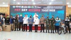 Ajak Buruh Bangun Ekonomi Sumut, May Day Recover Together Digelar di Rumah Dinas Gubernur