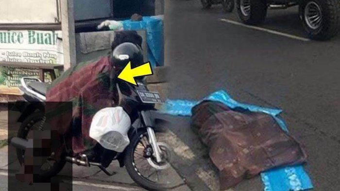 Viral Video Mayat Perempuan Jatuh dari Sepeda Motor saat Dibonceng Suaminya, Ini Fakta di Baliknya