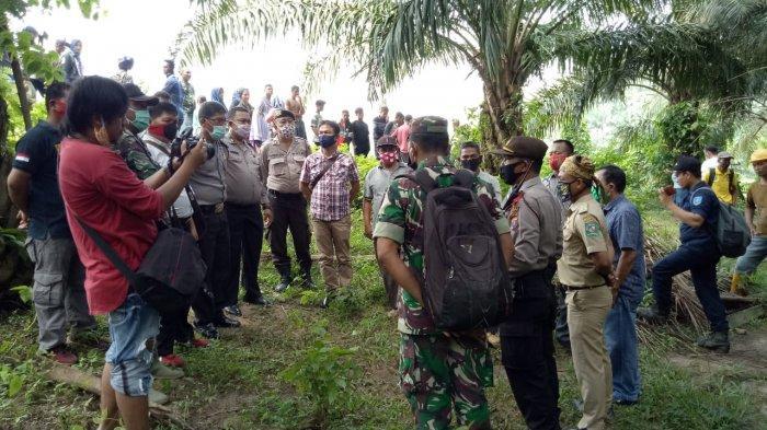 Petani Sawit Temukan Mayat dengan Kondisi Kelamin Hilang di Sungai Bahbolon Simalungun