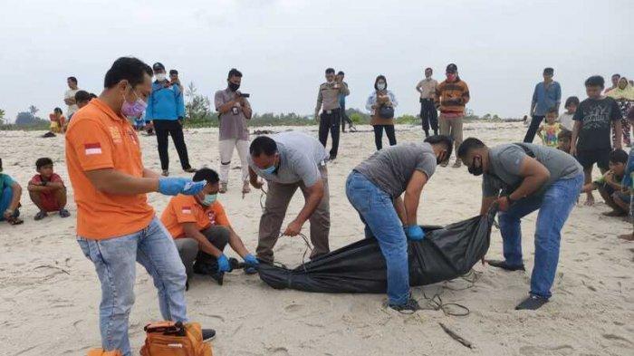 Mayat Pria Tak Dikenal Ditemukan di Pantai Sialangbuah, Ini Kesimpulan Polisi
