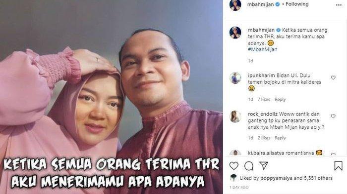 Sosok Istri Mbah Mijan yang Jarang Terekspos, Miliki Paras Ayu hingga Banjir Pujian dari Netizen