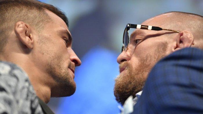 JADWAL Live Streaming McGregor Vs Dustin Poirier UFC 257, McGregor Aktifkan Mode Gorila!
