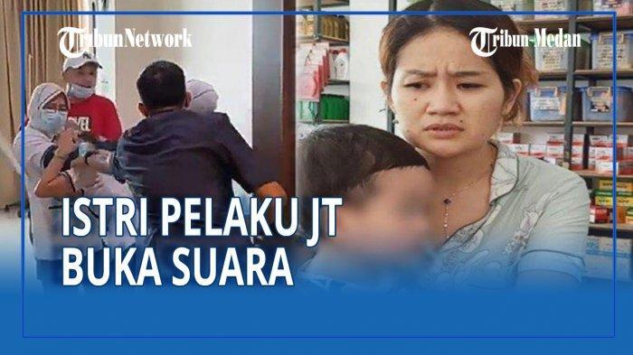 Melisa, istri JT yang aniaya perawat RS Siloam Palembang