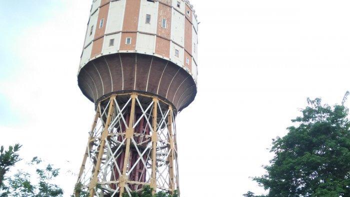 Cerita di Balik Menara PDAM Tirtanadi, Dibangun Zaman Kolonial Belanda