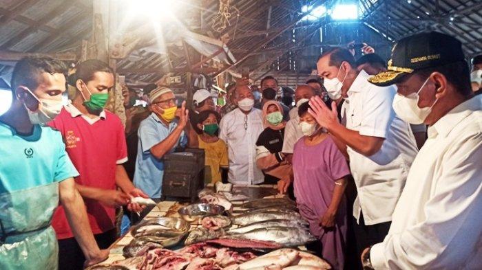 Mendag Puji Kestabilan Harga Komoditas di Sumut, Pedagang Justri Ngeluh Dagangannya Sepi