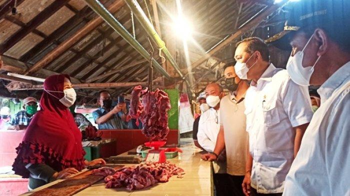 Kunjungi Pasar Kapuas Belawan, Ini Janji Mendag pada Pedagang Bersama Gubernur dan Wali Kota