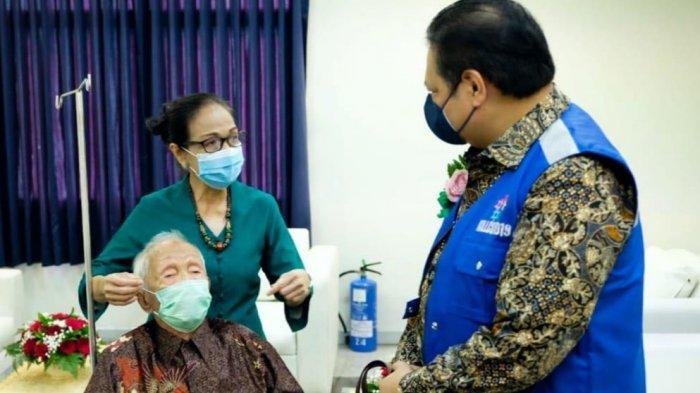 Menko Airlangga Apresiasi KILLCOVID, Partisipasi Vaksinasi Lansia lewat Home Care dan Home Delivery