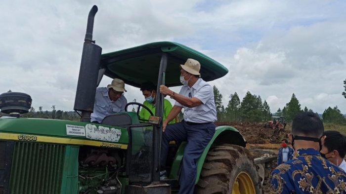 Di Hadapan 3 Menteri, Bupati Humbahas Lontarkan Optimisme Produksi Food Estate Tahap Ke-2 Lebih Baik