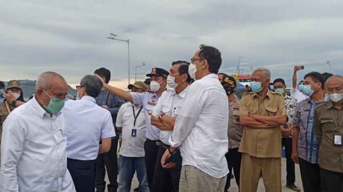 Menko Marves LBP Kunker ke Toba, Hotel dan Rumah Sakit Internasional di Sibisa Akan Dibangun