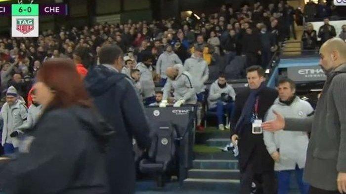 Pelatih Chelsea Tolak Salaman dengan Guardiola setelah Timnya Dipecundangi 6 Gol Tanpa Balas