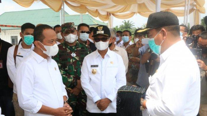 Dua Hari Pascadilantik, Menteri Investasi Kunjungi KEK Sei Mangkei Simalungun