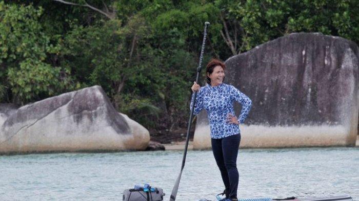 Menteri Susi Tak Sengaja Bersua Nelayan di Tengah Laut, Langsung Borong Udang Seharga Rp 1 Juta