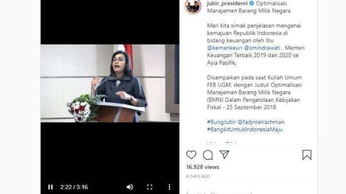 VIDEO Sri Mulyani Buka-bukaan Buruknya Masa Pemerintaan Soeharto, Aset Negara Tanpa Pembukuan