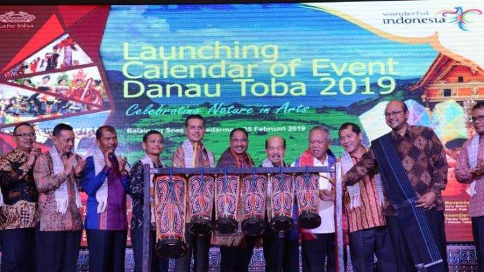 Peluncuran Calender of Event Danau Toba 2019, Celebrating Nature in Art Menampilkan 17 Event