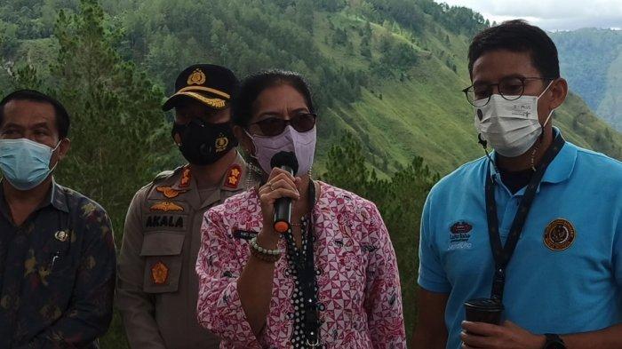 Berangkatkan Peserta Diklat dari Toba, Menteri Sandiaga Uno: Pariwisata Jadi Lokomotif Pembangunan