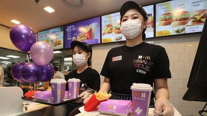 Menu Spesial BTS Meal McD Hadir di Medan, Begini Cara Ordernya