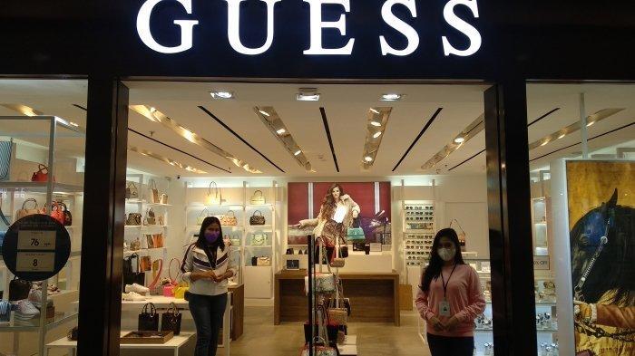 GUESS Berikan Diskon hingga 50 Persen di Store di Delipark Medan