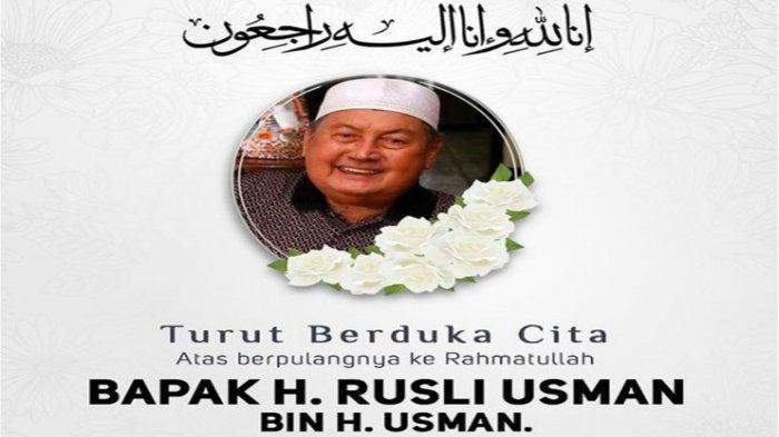 BREAKING NEWS Innalillahi, Mertua Wakil Gubernur Sumut Musa Rajekshah Meninggal Dunia