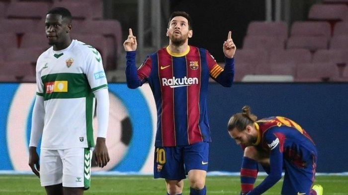 UPDATE Liga Spanyol - Faktor Lionel Messi Tak Cabut dari Barcelona, Kini Sudah Terwujud