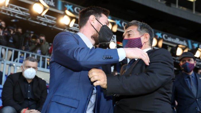 Kontrak Lionel Messi Sudah Berakhir, Jawaban Presiden Barcelona: Tenang Saja