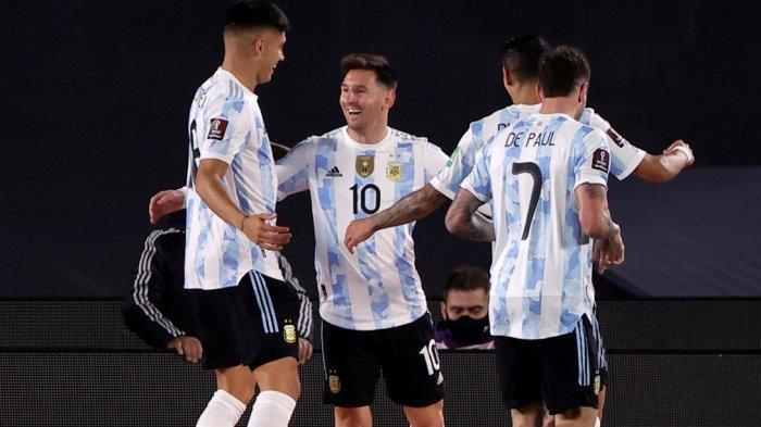 LIVE Mola TV Argentina Vs Peru Jam 06.30 WIB, Emosi Messi, yang Membuat Fans Lebih Cintai La Pulga