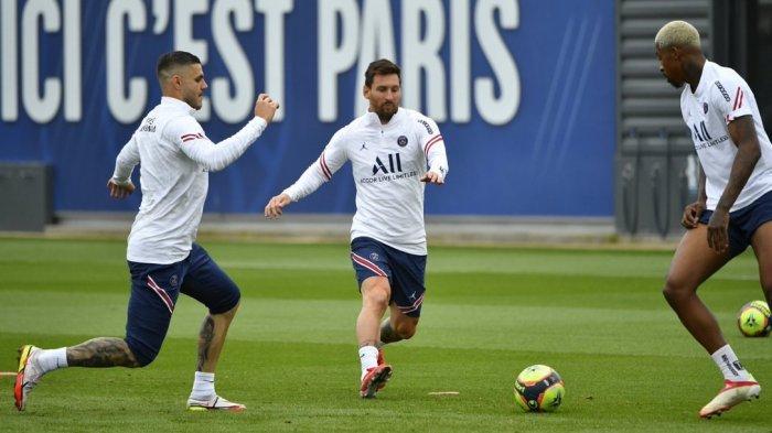 Jadwal Liga Prancis malam ini akan tersaji duel Brest Vs PSG, Lionel Messi bakal debut.