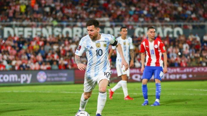 JAM Tayang Argentina Vs Peru Besok Pagi, Lionel Messi Main, Lanjutkan Rekor Tak Terkalahkan
