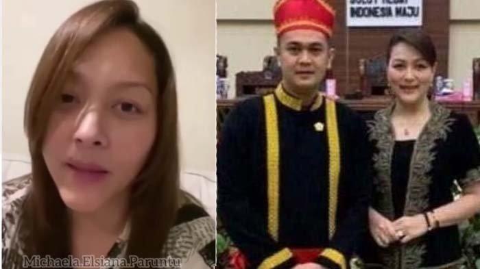 Michaela Paruntu Menangis Pilu Memaafkan Sang Suami yang Telah Diberhentikan dari Anggota DPRD