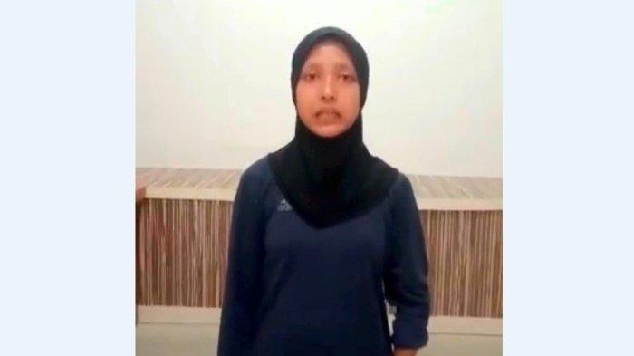 Mila Apriani memohon kepada Bupati Asahan H Surya dan anggota DPRD membantunya untuk berangkat ke Bahrain dalam ajang Asian Youth Para Games Bahrain 2021.