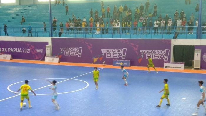 Mimpi Tim Futsal Sumut Menjadi Semifinalis di PON Papua Kandas