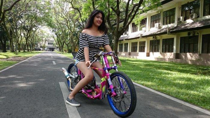 Modifikasi Sepeda Motor Mio Sporty Untuk Keperluan Balap Tribun Medan