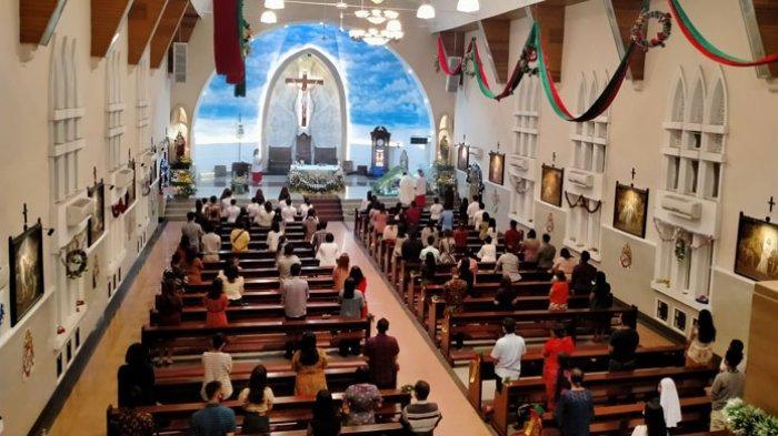 Jadwal Misa 5 Gereja Paroki Katolik di Kota Medan