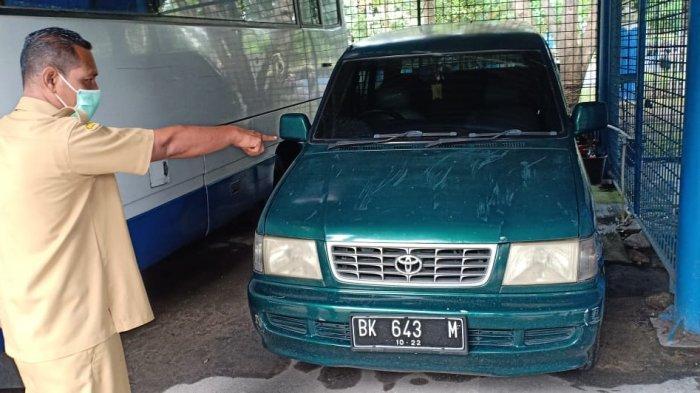 Mantan Pejabat di Deliserdang Akhirnya Kembalikan Mobil Dinas Butut Setelah Diributi