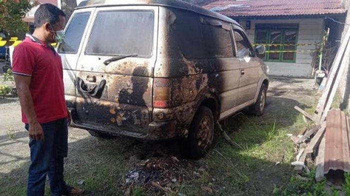 MOBIL Dibakar, Jurnalis Metro TV Beberkan Ada Mobil Mondar-mandir Parkir di Depan Rumah