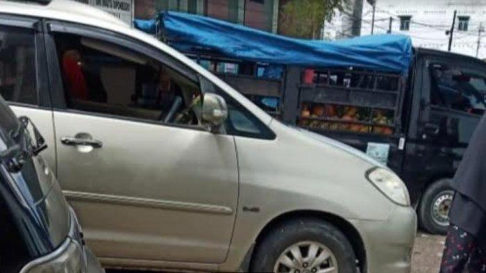 Uang Rp 70 Juta Raib Seketika setelah Kaca Mobil Innova yang Diparkir di Pasar Diponegoro Dipecahkan