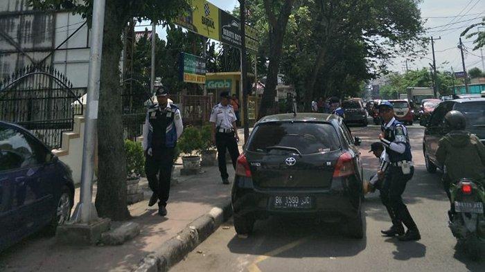Realisasi Parkir Tepi Jalan Kecamatan Percut Seituan Baru 40 Persen, Camat: Bukan karena OKP
