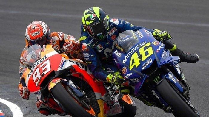 Valentino Rossi Start Ke-2 MotoGP Inggris, Marc Marquez: Bukan Hanya Dia yang Hebat