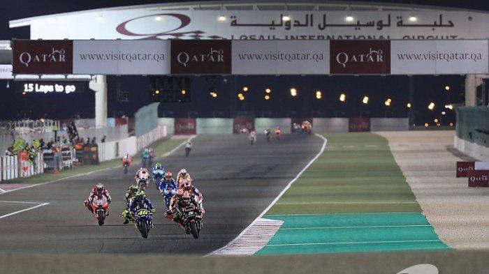 MotoGP Qatar 2019 - Ulik 7 Fakta Unik MotoGP Qatar, Sirkuit di Tengah Padang Pasir, Jarang Diketahui
