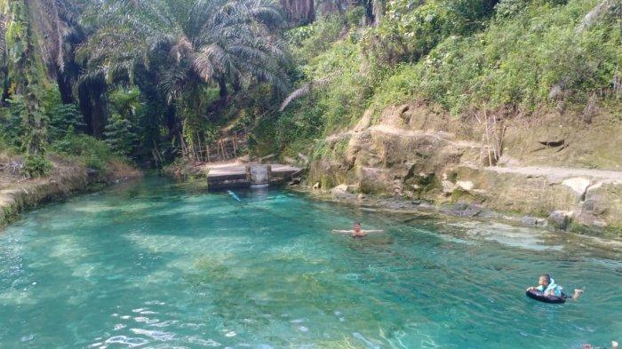 Mual Tio, Wisata yang Tawarkan Air Jernih Langsung Dari Danau Toba
