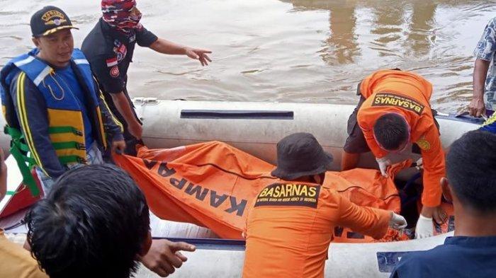 Mudik Lewat Jalur Tikus Melintasi Sungai, Perahu yang Disewa Malah Tenggelam, 3 Orang Tewas