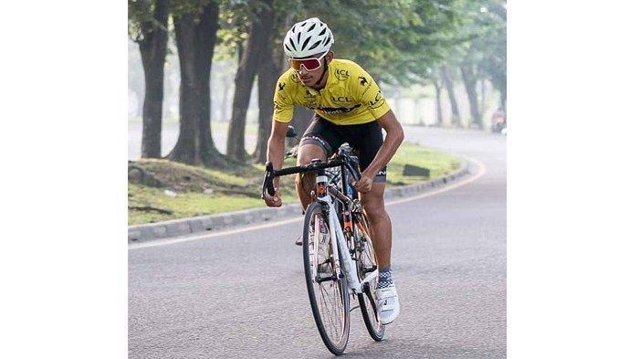 Kolam Renang Tutup Selama Pandemi, Muhammad Aziiz Sukani Beralih Jadi Atlet Balap Sepeda