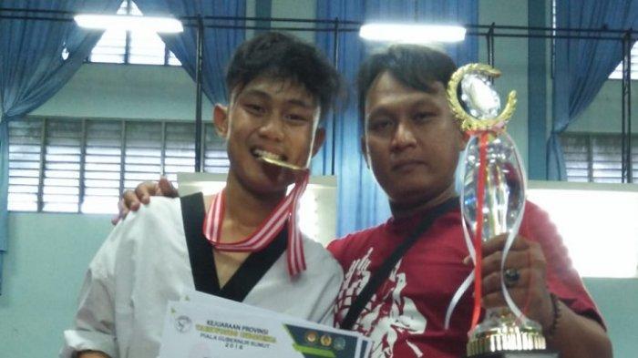 Taekwondoin Sumut Muhammad Ricko Rifano Bilang Pandemi Bisa Buat Atlet Alih Profesi