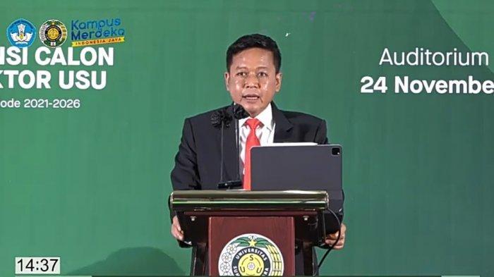 Muryanto Amin Terpilih Jadi Rektor USU, Begini Tanggapan Gubernur Sumut