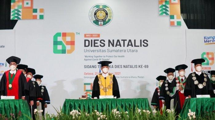 Dies Natalis USU ke-69, USU Launching Telemedicine untuk Pasien Covid-19