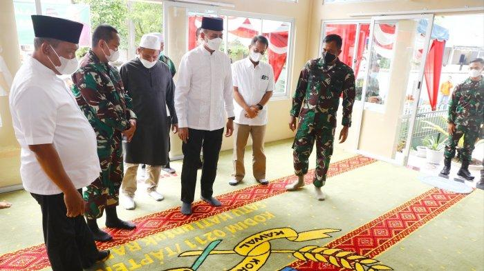 Ijeck Resmikan Musala Al-Musannif Makodim 0211/TT, Doakan Amal Jariyah Mengalir untuk Semua