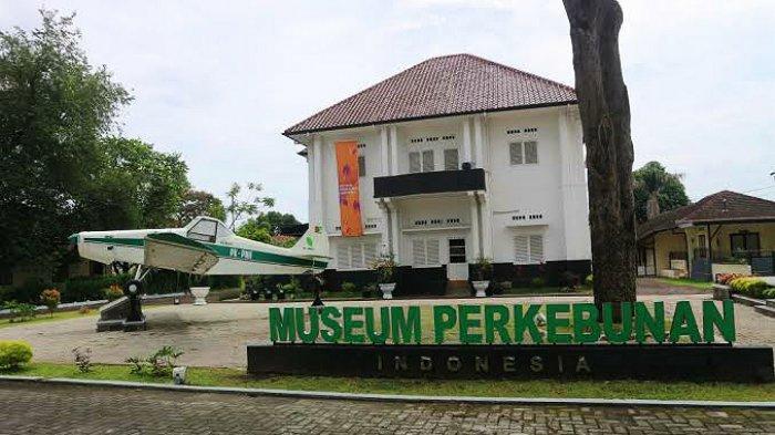 Museum Perkebunan Indonesia yang berada di Jalan Brigjend Katamso, Kota Medan, Sumatera Utara