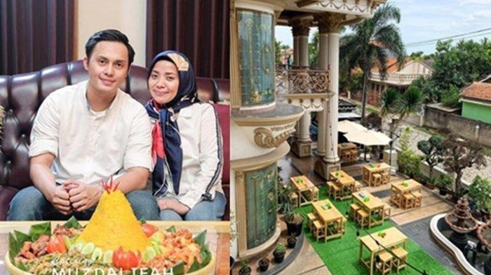 Muzdalifah dan Fadel Islami buka rumah makan di teras rumah dinamakan 'Teras Muzda'